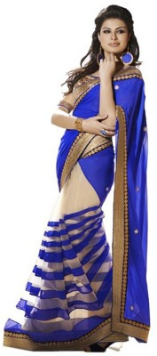Youth Mantra Embellished Bollywood Chiffon Sari