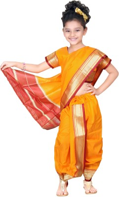 Bhartiya Paridhan Self Design Paithani Art Silk Sari