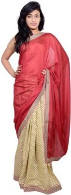 MSS Plain Bollywood Cotton Sari