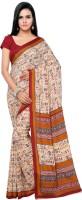 Goodfeel Applique Patola Silk Sari(Multicolor)