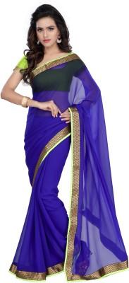 Hamsini Self Design Bollywood Georgette Sari