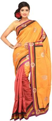 Charvi Embriodered Fashion Handloom Silk Sari