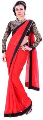 Laxminath Embriodered Fashion Georgette Sari
