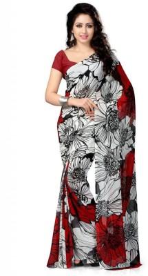 Nilesh Fab Floral Print Bollywood Pure Georgette Sari