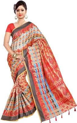 Parichay Self Design Manipuri Handloom Silk Sari
