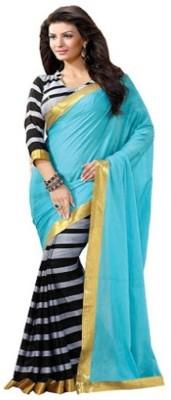 DWM Printed Bhagalpuri Art Silk Sari
