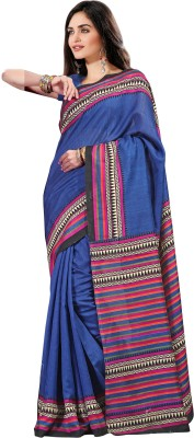 Rajesh Silk Mills Printed Fashion Silk Cotton Blend Sari