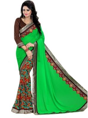 Hoor Printed Fashion Georgette Sari