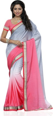 Aalya Solid Fashion Georgette Sari