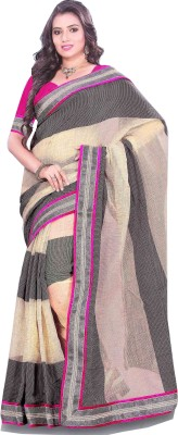 Swaman Self Design Bhagalpuri Silk Cotton Blend Sari