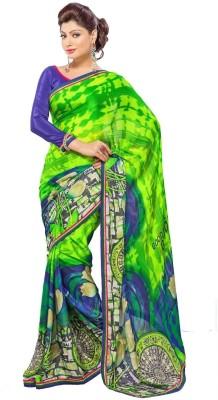 Fadattire Printed Fashion Georgette Sari
