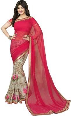 Cheris Impex Floral Print Bollywood Georgette Sari