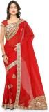 Khazana Embroidered Fashion Georgette Sa...