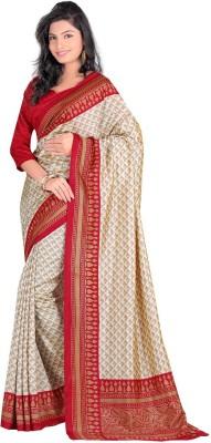 Muta Fashions Printed Banarasi Dupion Silk Sari