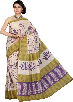 Mann Printed Daily Wear Cotton Sari