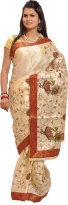 Thamaraigrandies Embriodered Fashion Art Silk Sari