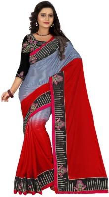 Sareeka Sarees Plain, Embriodered Balarampuram Silk Sari