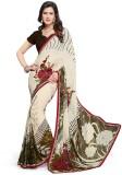 PSHOPEE Printed Fashion Chiffon Saree (W...