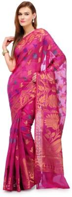 Fabroop Self Design Banarasi Cotton, Silk Sari