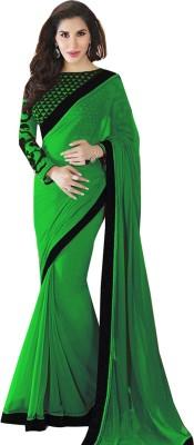 Meshwa Fashion Printed Bollywood Handloom Georgette Sari