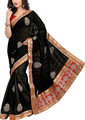 Awesome Self Design Fashion Art Silk Sari