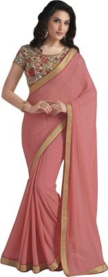 Laxmipati Embriodered Bollywood Pure Georgette Sari