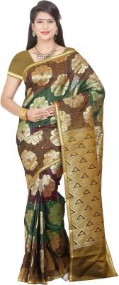 Nalliee Self Design Paithani Handloom Art Silk Sari