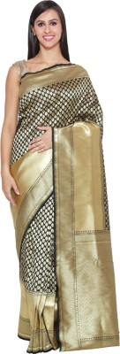 Chhabra Xclusive Woven Banarasi Shimmer Fabric Sari