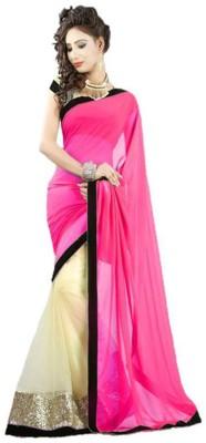 Rinkey Sarees Embriodered Fashion Chiffon Sari