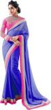 Aanaya Fashions Solid Bollywood Georgett...