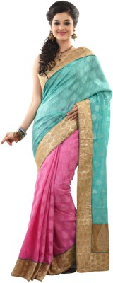 Sangam Kolkata Self Design Fashion Jacquard Sari