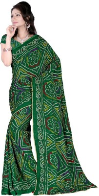 Ustaad Embriodered Bollywood Crepe Sari