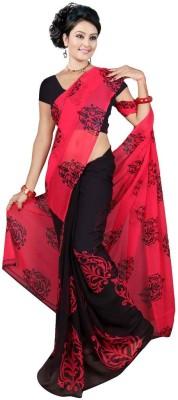 Garg Fashion Printed Daily Wear Georgette Sari