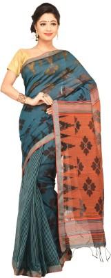 Charvi Self Design Fashion Handloom Silk Sari