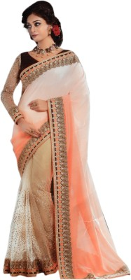 Saaj Embellished Bollywood Net Sari