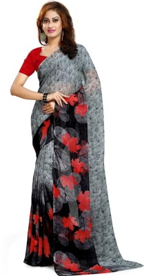 GL Sarees Self Design Fashion Pure Georgette Sari