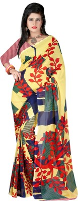 Aarnas Fashion Printed Bollywood Georgette Sari