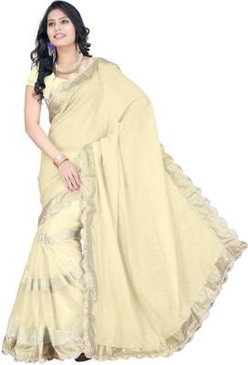 Jahnavi Creation Embriodered Bollywood Net Sari
