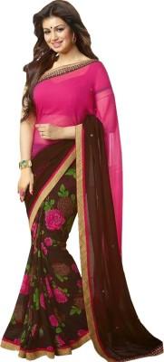 G-3 Fashion Zone Embriodered Bollywood Georgette Sari