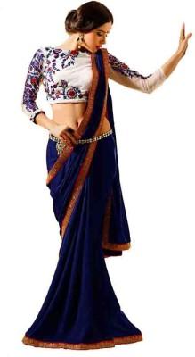 T Zone Fashion Self Design Fashion Viscose Sari