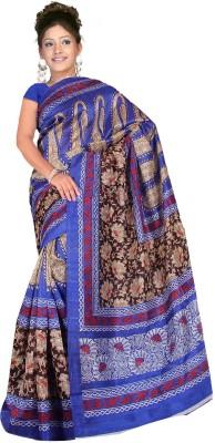 A G Lifestyle Geometric Print Bhagalpuri Art Silk Sari