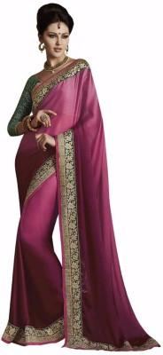 Looks & Likes Self Design Fashion Handloom Satin Sari