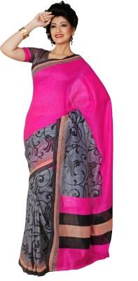365 Labels Printed Murshidabad Art Silk Sari