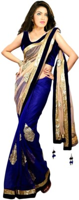 Ratna Synthetics Embellished Bollywood Net Sari