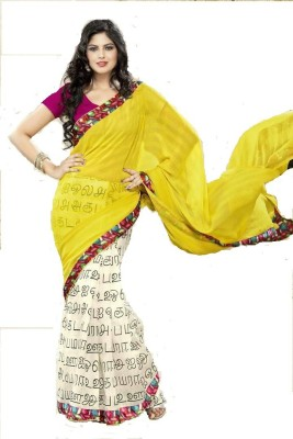 Fashion Attire Self Design, Printed Fashion Silk Sari