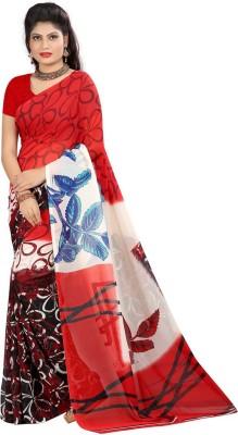 Fab Fashion Studio Printed Daily Wear Georgette Sari