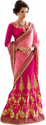 Desi Look Self Design Fashion Viscose Sari