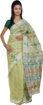 Sanrocks Global Fashions Printed Tant Cotton Sari