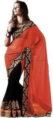 Charvi Embriodered Fashion Georgette Sari