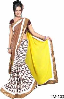 Elegant Fashion Embriodered Bollywood Chiffon Sari